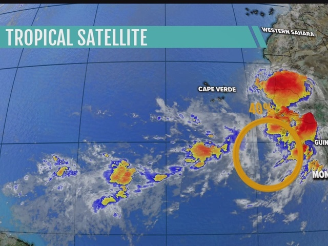 National Hurricane Center watching far off tropical wave