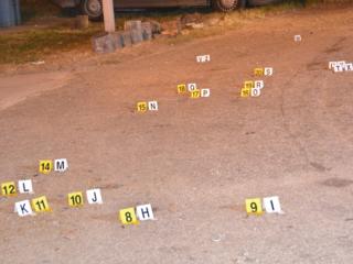 Casings litter Boynton streets after gunfire