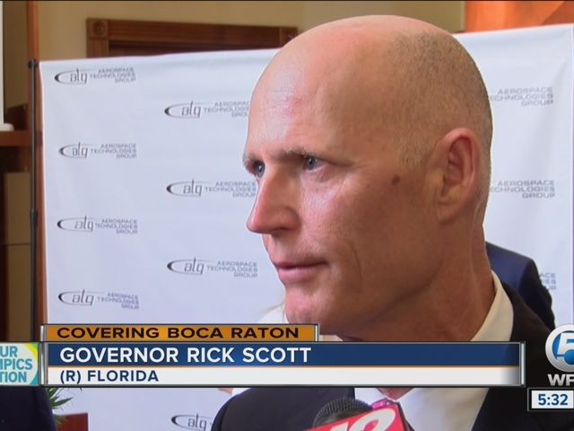 Governor Rick Scott targeting aerospace industry