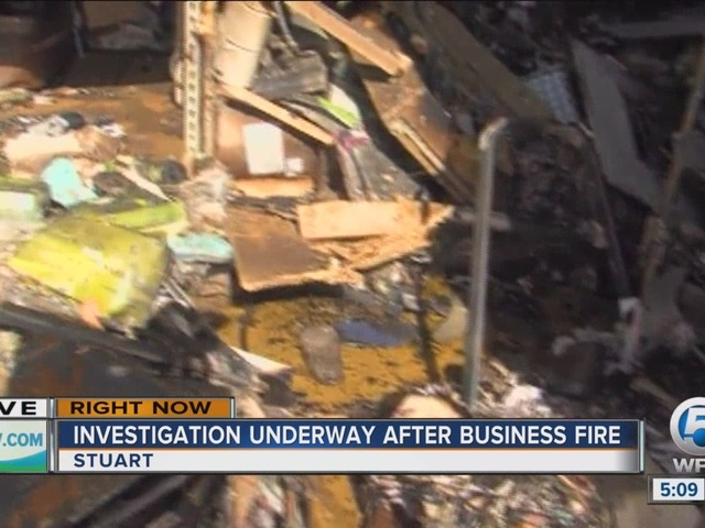 Investigation on Nobile Shoes fire in Stuart to begin soon