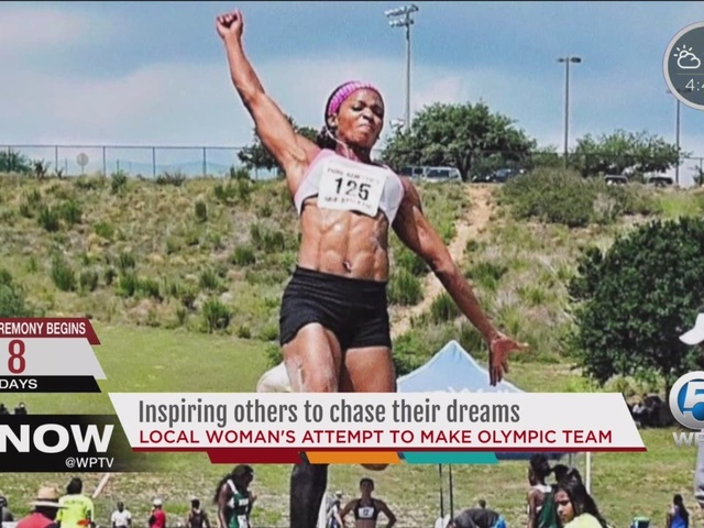 Local woman inspires others to chase their dreams with her attempts to…