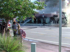 Stuart shoe store badly damaged by fire