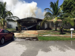 Dog and cat die in Boca Raton house fire