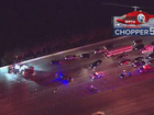 All lanes blocked on I-95 NB in Lake Worth