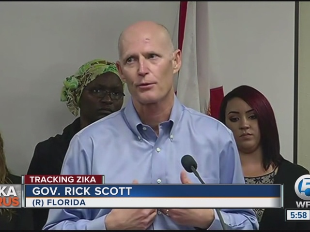 Florida is first state with Zika from mosquitoes