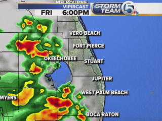 Sct'd storms this afternoon/eve