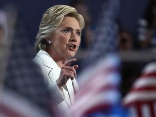 Hillary Clinton accepts historic nomination