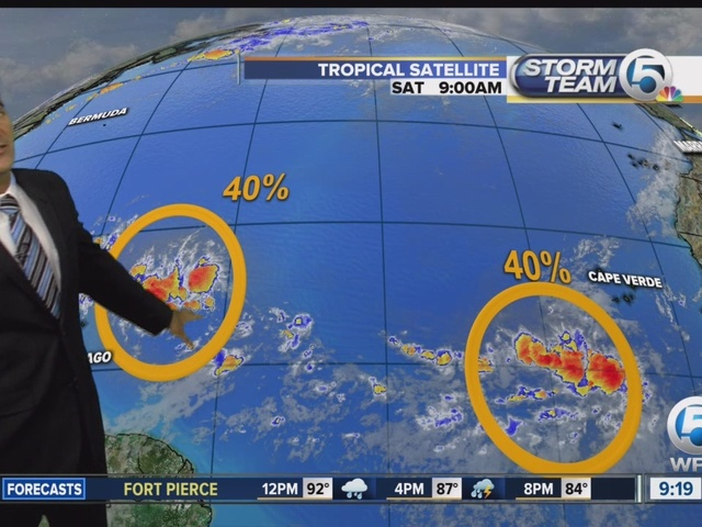Tropical Update Saturday morning on Today on 5