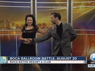 'Boca's Ballroom Battle' on Aug. 20