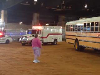 Okeechobee County conducts bus crash drill