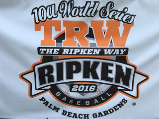Cal Ripken WS being held in Palm Beach Gardens