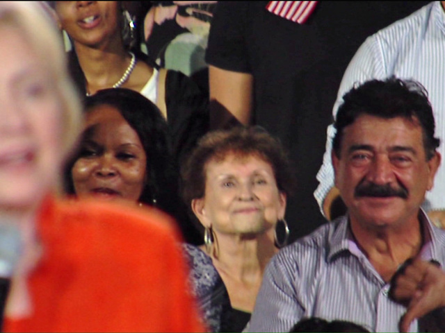 Orlando shooter's father attends Hillary Clinton rally in Kissimmee