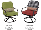 RECALL: Swivel dining and lounge chairs