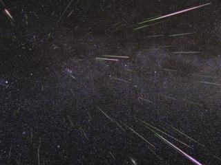 Perseid meteor shower peaks