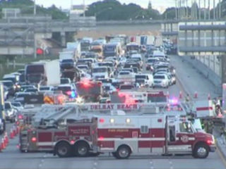 NB lanes of I-95 reopen in Boynton Beach