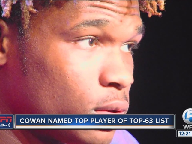 ESPN 106.3's 'Top 63' revealed; Cowan named No.1