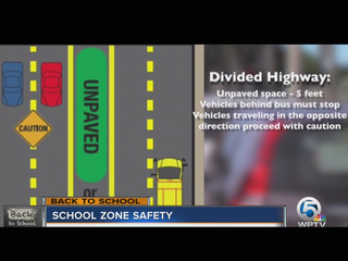 Refresher course on school zone safety