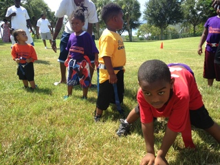 Toddler sports league teaches big lessons