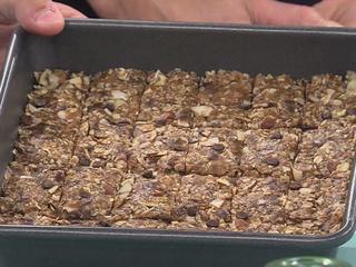 Back to school snack: No-bake granola bars