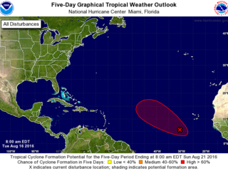 Tropical wave off Africa has 90% odds of forming