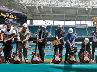 Dolphins' Hard Rock deal worth nearly $250M