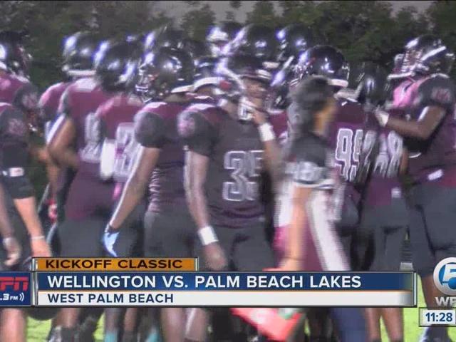Amazing play highlights Palm Beach Lakes win