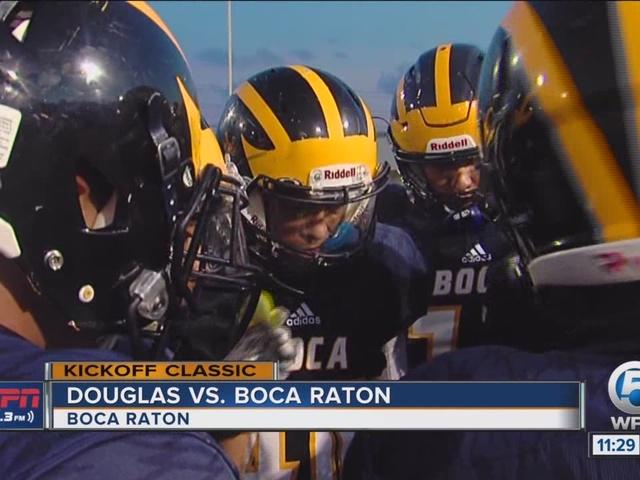 Boca falls in Kickoff Classic