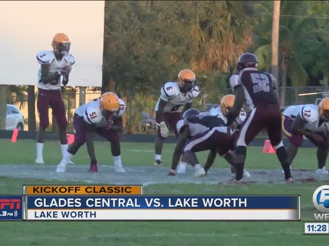 Glades Central and Lake Worth play to tie in Kickoff Classic