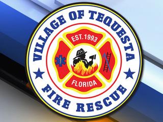 Tequesta Fire Rescue extinguishes limo fire