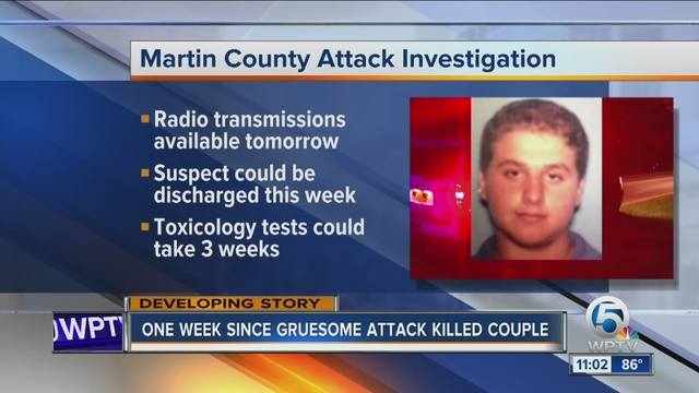 Teen accused of face-biting slayings remains in stable but critical condition