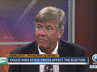 Could high stock prices affect the election?