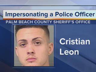 Accused cop impersonator enters not guilty plea