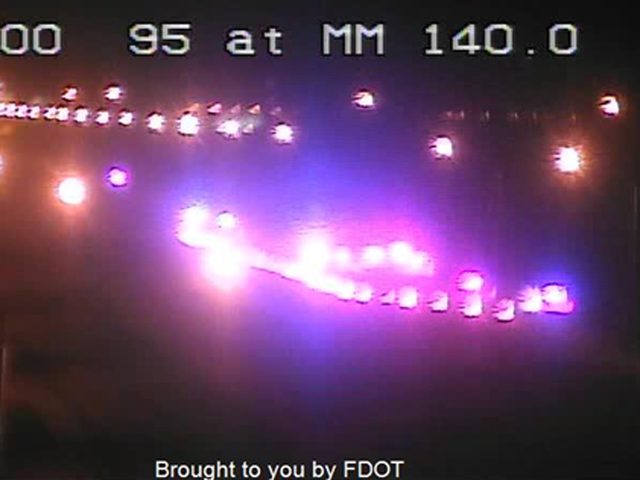 All lanes closed on I-95 SB in St. Lucie Co.