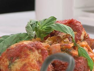 Turkey Meatballs, Sweet Potato Noodles recipe