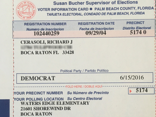 Dead man's voter registration mailed to daughter