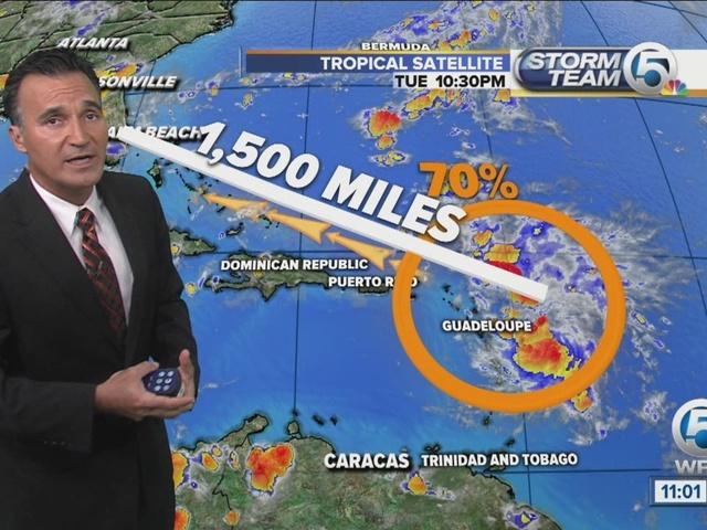 All eyes on tropical wave in the Atlantic Ocean