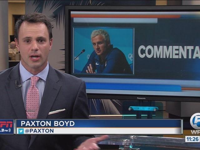 COMMENTARY: ESPN 106.3's Paxton Boyd sounds off on Ryan Lochte's Rio Incident