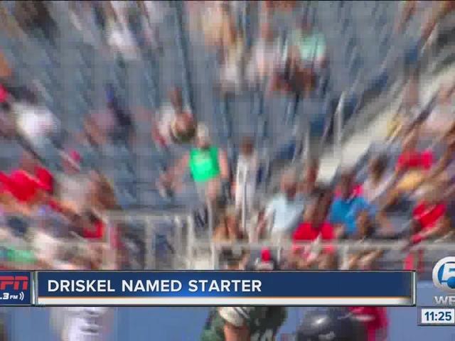Driskel Named Starter