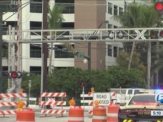 Brightline construction to close roads in Boca