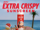 Would you wear KFC-extra crispy sunscreen?