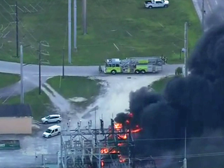 Explosion, transformers catch fire in Miami-Dade
