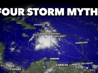 Common misconceptions concerning storms