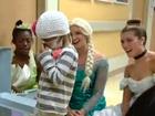 Disney princesses visit child battling cancer