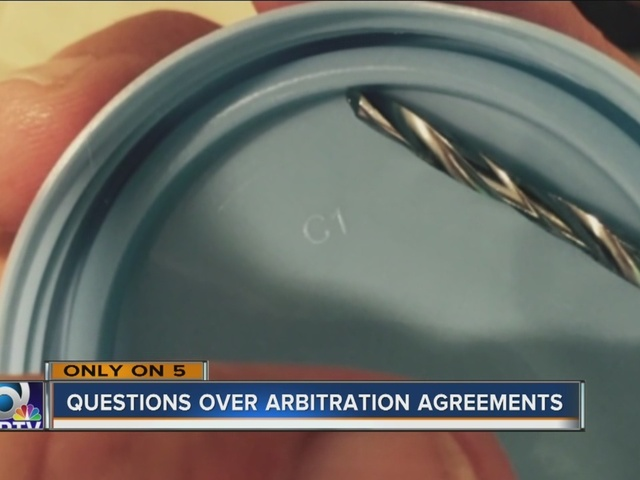 Officer Learns Lesson By Signing Doctor'S Arbitration Agreement
