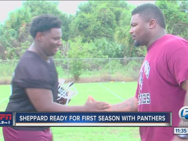 Sheppard Ready For First Season With Panthers