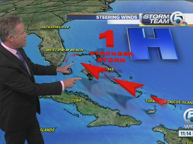 Tropical wave remains weak