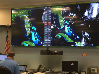 FPL prepares in command center as storms develop