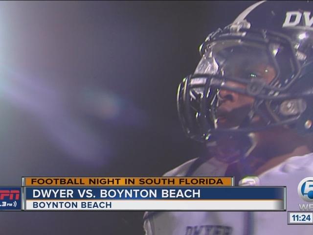 Dwyer opens the season with a big win over Boynton Beach