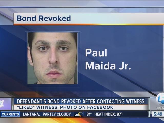 Facebook 'like' gets Florida man a return trip to jail