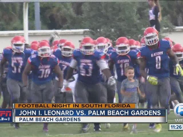 Palm Beach Gardens start the season with a win over John I. Leonard